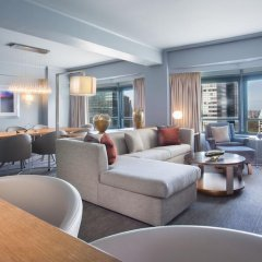 Отель New York Hilton Midtown 4* Президентский люкс с двуспальной кроватью