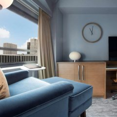 Отель New York Hilton Midtown 4* Номер Skyline с различными типами кроватей