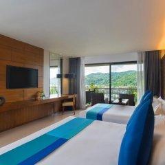 Отель Novotel Phuket Kata Avista Resort And Spa 4* Улучшенный номер 2 отдельные кровати