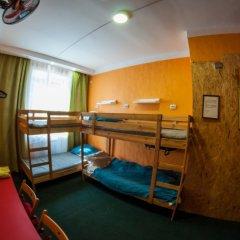 Хостел Хабаровск B&B Кровать в общем номере с двухъярусной кроватью фото 15