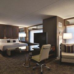 Отель SKYLOFTS at MGM Grand 4* Люкс Tower Spa с различными типами кроватей фото 2
