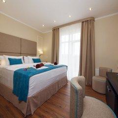 Гостиница Голубая Лагуна Улучшенный номер разные типы кроватей фото 6