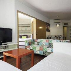 Отель BarcelonaForRent Eixample Suites Барселона комната для гостей фото 10