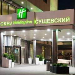 Гостиница Холидей Инн Москва Сущевский вид на фасад фото 4