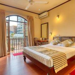 Отель Yoho Colombo City 3* Номер Делюкс с различными типами кроватей фото 5
