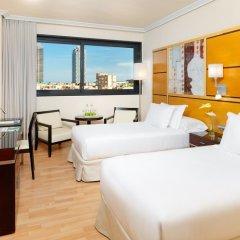 Отель H10 Marina Barcelona 4* Стандартный номер с 2 отдельными кроватями