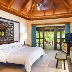 Отель Sheraton Maldives Full Moon Resort & Spa 5* Коттедж с различными типами кроватей