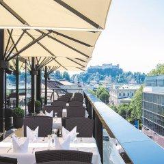 Отель IMLAUER Hotel Pitter Salzburg Австрия, Зальцбург - 7 отзывов об отеле, цены и фото номеров - забронировать отель IMLAUER Hotel Pitter Salzburg онлайн балкон