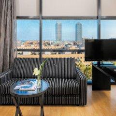Отель H10 Marina Barcelona 4* Люкс с различными типами кроватей