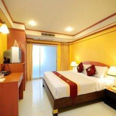 Chaleena Hotel Бангкок комната для гостей фото 2