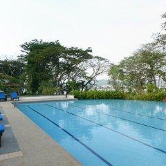 Отель Jerejak Rainforest Resort Малайзия, Пенанг - отзывы, цены и фото номеров - забронировать отель Jerejak Rainforest Resort онлайн бассейн фото 2