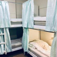 Хостел Пастернак Кровать в общем номере с двухъярусной кроватью фото 3