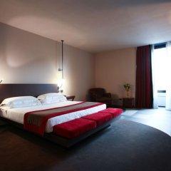 Отель IH Hotels Milano Ambasciatori 4* Люкс с различными типами кроватей фото 2