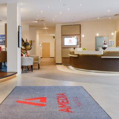AMEDIA Hotel Dresden Elbpromenade интерьер отеля