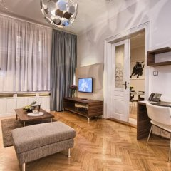 Отель Residence Brehova Прага комната для гостей фото 3