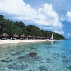 Отель Evason Phuket & Bon Island пляж