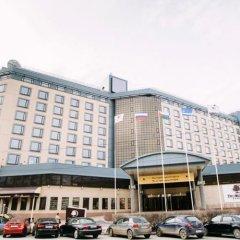 Отель DoubleTree by Hilton Tyumen Тюмень вид на фасад фото 2