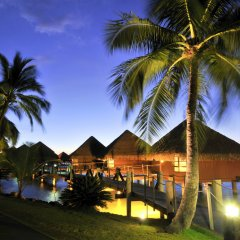 Отель InterContinental Resort Tahiti Французская Полинезия, Фааа - 1 отзыв об отеле, цены и фото номеров - забронировать отель InterContinental Resort Tahiti онлайн пляж