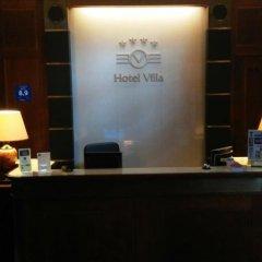 Hotel Villa Прага интерьер отеля