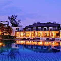 Отель Twin Lotus Resort and Spa - Adults Only Ланта вид на фасад фото 8