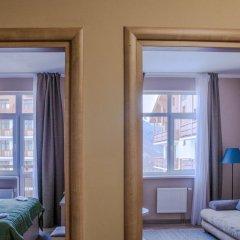 Гостиница 28 Семейный трехкомнатный номер с различными типами кроватей фото 6