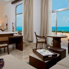 Отель Grand Fiesta Americana Coral Beach Cancun 5* Полулюкс Grand club с различными типами кроватей фото 3