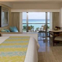 Отель Grand Fiesta Americana Coral Beach Cancun 5* Полулюкс Ocean front с различными типами кроватей фото 3