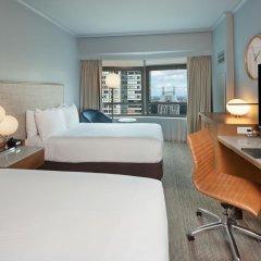 Отель New York Hilton Midtown 4* Представительский люкс с двуспальной кроватью фото 2