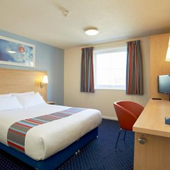 Отель Travelodge London Docklands комната для гостей