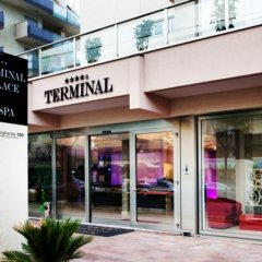 Отель Terminal Palace & Spa Римини вид на фасад фото 2