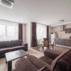 Гостиница Комплекс апартаментов Комфорт Улучшенные апартаменты с различными типами кроватей фото 31