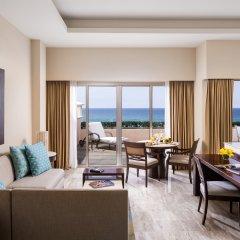 Отель Grand Fiesta Americana Coral Beach Cancun 5* Полулюкс Ocean view с двуспальной кроватью фото 4