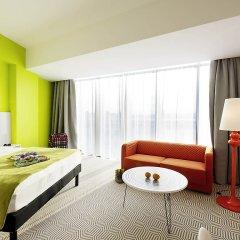 Отель Ibis Styles Wroclaw Centrum Номер Комфорт с различными типами кроватей