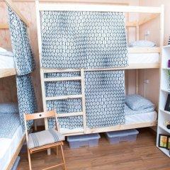 Хостел Павелецкая Площадь Кровать в общем номере с двухъярусной кроватью фото 3