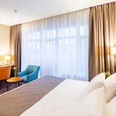 Гостиница Taurus City Львов комната для гостей фото 6