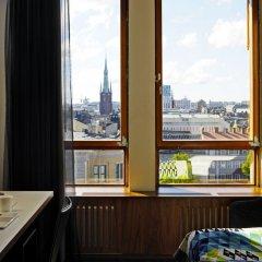 Отель Scandic Norra Bantorget балкон