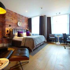 Отель Malmaison London 4* Номер Charterhouse square club с различными типами кроватей