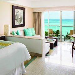 Отель Grand Fiesta Americana Coral Beach Cancun 5* Полулюкс Ocean view с различными типами кроватей фото 2