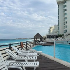 Отель Oleo Cancun Playa All Inclusive Boutique Resort Канкун бассейн фото 3
