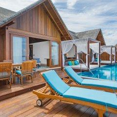 Отель Furaveri Island Resort & Spa 5* Люкс с двумя спальнями и бассейном с различными типами кроватей фото 3