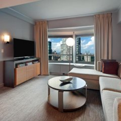 Отель New York Hilton Midtown 4* Представительский люкс с различными типами кроватей фото 2