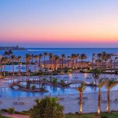 Отель Cleopatra Luxury Resort Makadi Bay пляж фото 2