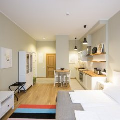 Апартаменты Riga Lux Apartments - Skolas Апартаменты с различными типами кроватей фото 18