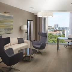Отель Hilton Tallinn Park 4* Люкс повышенной комфортности с различными типами кроватей фото 2
