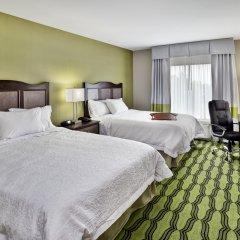 Отель Hampton Inn Niagara Falls/ Blvd США, Ниагара-Фолс - отзывы, цены и фото номеров - забронировать отель Hampton Inn Niagara Falls/ Blvd онлайн комната для гостей фото 2