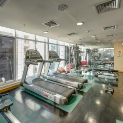 Grandeur Hotel Дубай фитнесс-зал