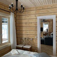 База Отдыха Forrest Lodge Karelia Улучшенный шале с разными типами кроватей фото 11