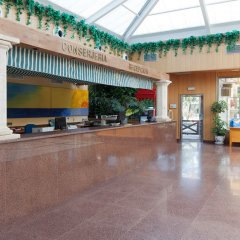 Playasol Aquapark & Spa Hotel интерьер отеля