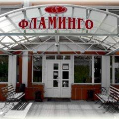 Гостиница Flamingo Resort вид на фасад фото 3