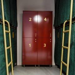 Хостел Strawberry Duck Moscow Кровать в общем номере с двухъярусной кроватью фото 2